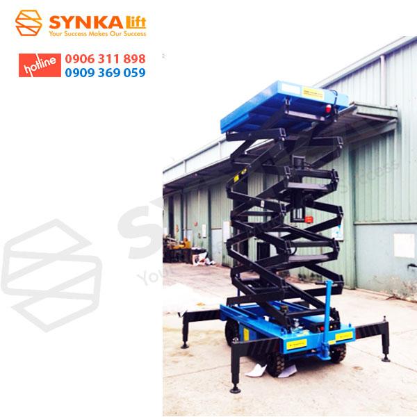 Thang nâng điện cao 12m ( SJYO.5-12 )