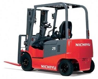 Xe nâng điện ngồi lái Nichiyu