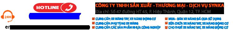 Xe nâng SYNKA - Xe nâng giá rẻ tại TPHCM